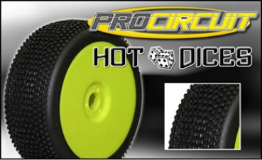ProCircuit Hot Dices soft, verklebt (Satz)
